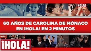Carolina de Mnaco una vida en la portada de HOLA Su nacimiento sus matrimonios su papel de Primera Dama El recorrido de la Princesa en la revista...