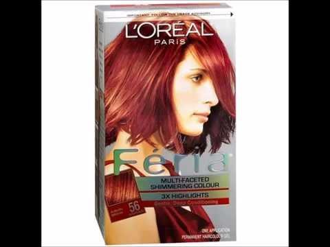 L Oreal Paris Feria Permanent Haircolor Auburn Brown 56 1 Ea