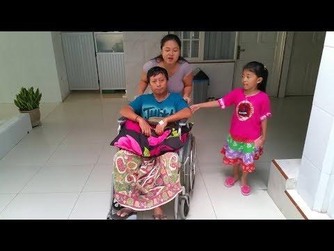 Vlog 3 Kegiatan Shanti di Rumah Sakit - Hore Papah pulang Sudah Sembuh