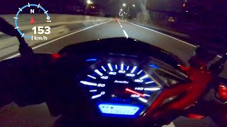 Top speed vario bore up 63 free 155++ on speedo 153 on gps