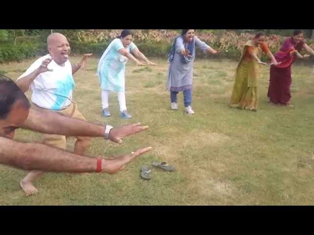 Laughter Yoga video by Ram Kishan - First Session by Raja Babu