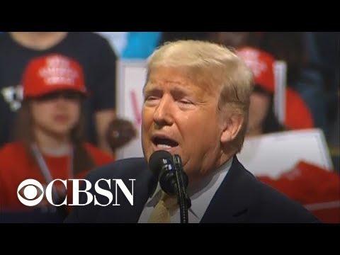 Trump Slams Democratic Rivals During Colorado Springs Rally