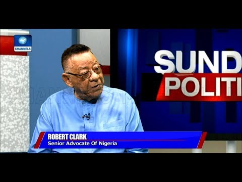 Robert Clarke Rates FG's Anti-Corruption Fight 'Above Average'  Politics Today 