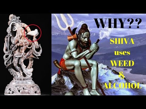Why Does Lord Shiva Smoke Weed and Drink Alcohol?