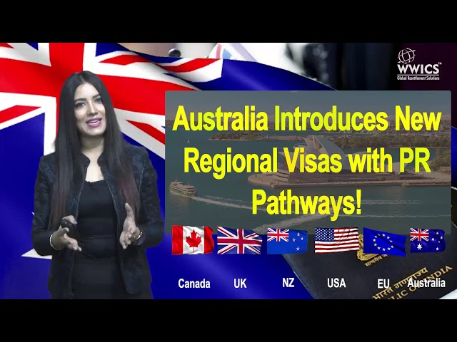 Australia is all set to launch 2 new visas with PR pathways.