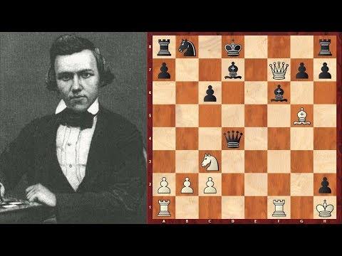 Шахматы. КОМБИНАЦИОННАЯ ФЕЕРИЯ гениального Пола Морфи