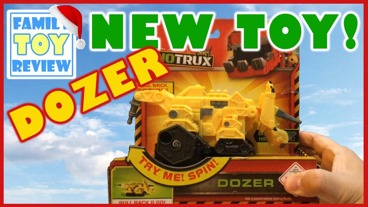 New Dinotrux Toy Dozer Pull Back Dinotrux Episode 1 At