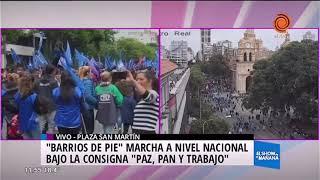 Día de marchas en todo el país