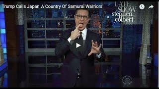 "Trevor Noah  ""Trump Knows Two Things About Japan, and Neither of Them Is Right"