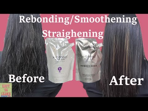 Rebonding/Smoothening/Straightening Of Hair-Loreal X-tenso Rebonding-Permanent Straightening of Hair