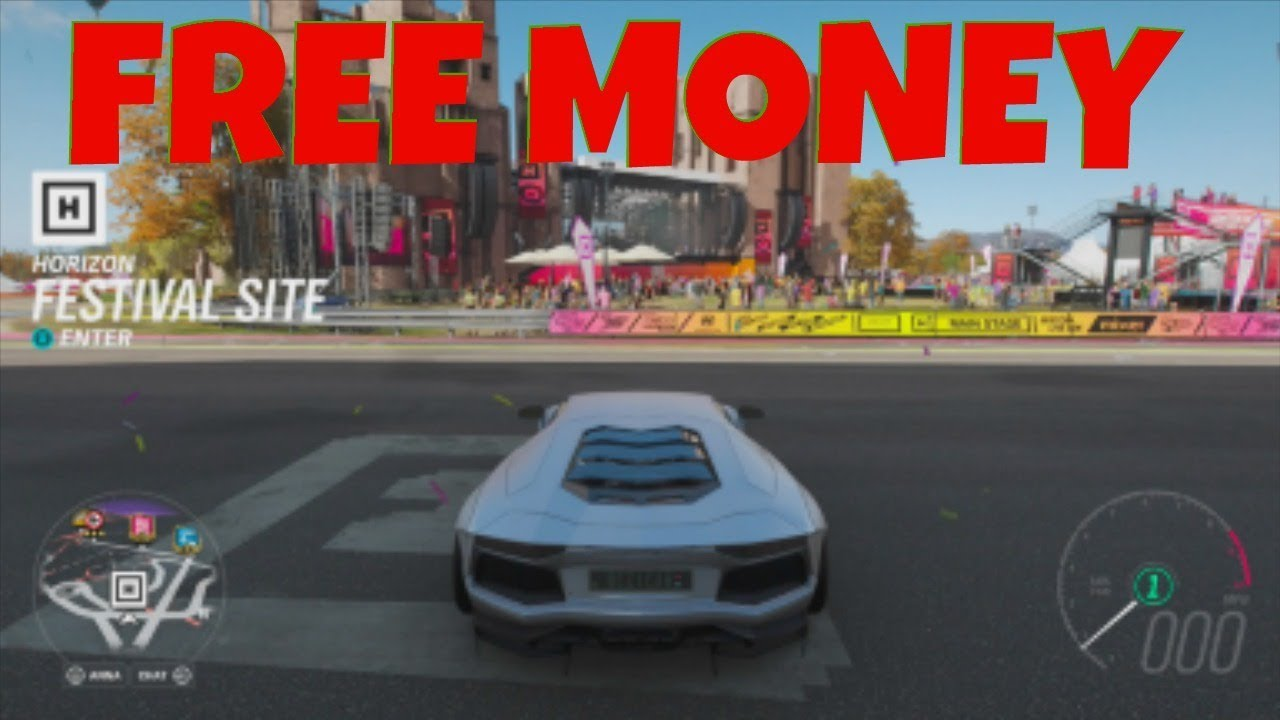 Forza Horizon 4 FREE Money