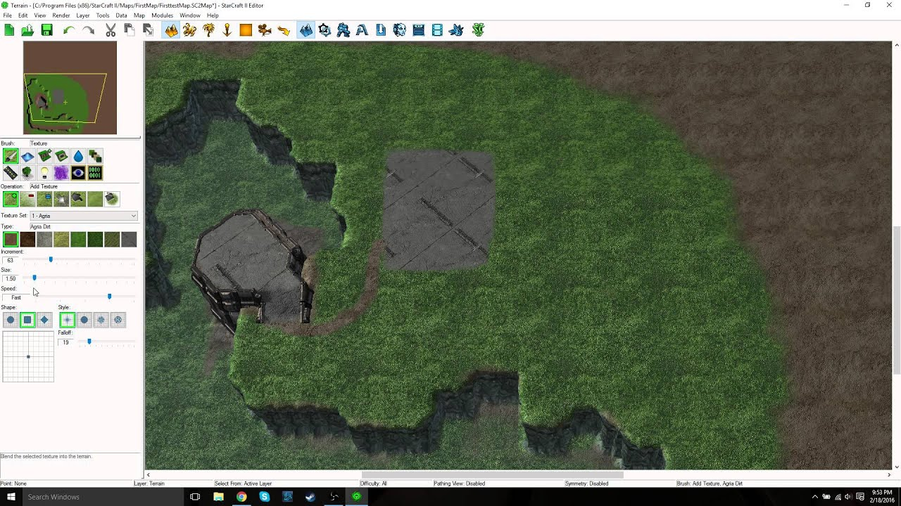 Learning How to Use the StarCraft 2 Map Editor: Terrain Basics