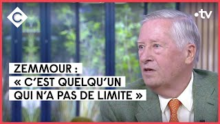 Éric Zemmour, le trublion à grande vitesse avec Alain Duhamel - C à vous - 17/09/2021