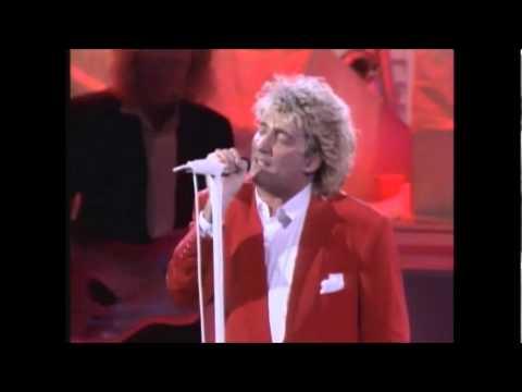 Rod Stewart LIVE - Rhythm of my heart (HQ)