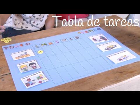 Cómo hacer una tabla de tareas y recompensas en casa