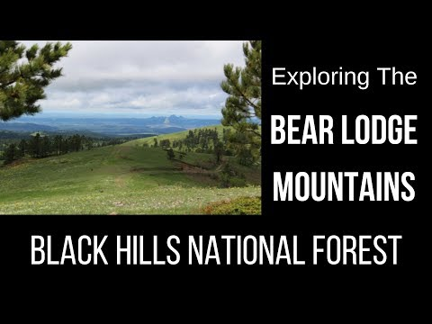 Exploring the Bear Lodge Mountains in Northeast Wyoming