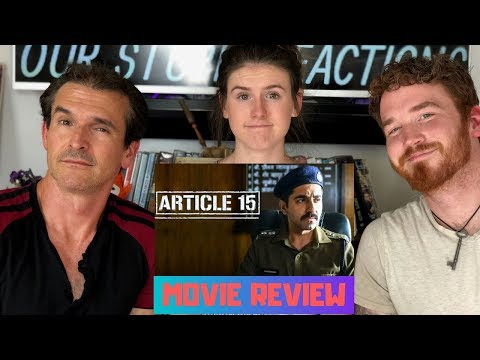 ARTICLE 15 MOVIE REVIEW | Ayushmann Khurrana | NON-SPOILER/SPOILER