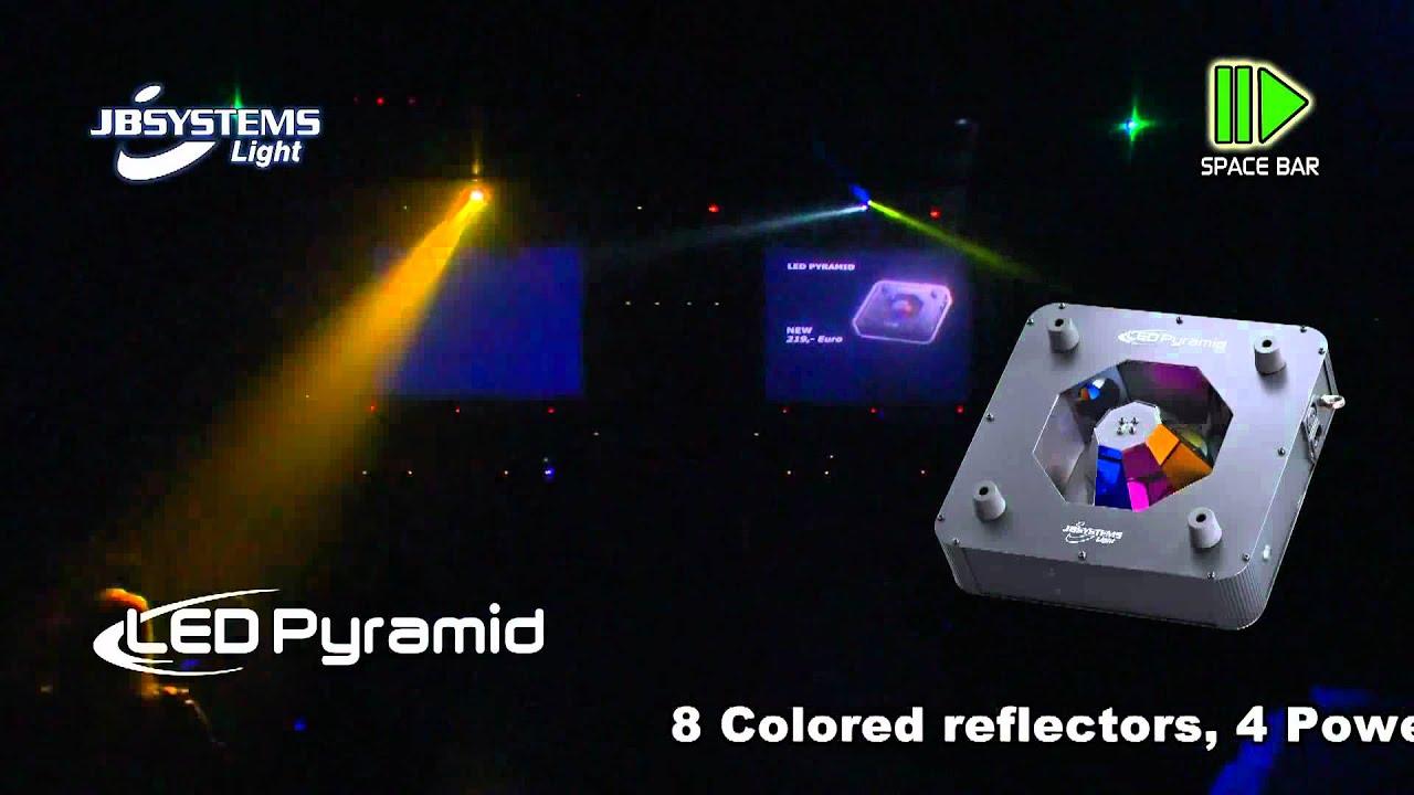 Jb Led Pyramid 6 X 3 W Leds Youtube 22 Ohm 3w For Rgb