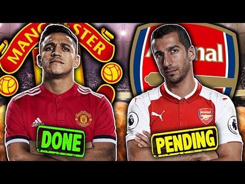 Henrikh Mkhitaryan and Alexis Sanchez Close To Straight Swap Deal?!  Transfer Talk