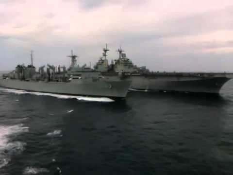 Cruising on the Atlantic! Tiger Cruise 2011 on the USS Carter Hall 480p