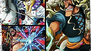 OPTC LEGEND BLACKBEARD CAVENDISH VS 30 STAMINA COLLOSEUM MCGUY
