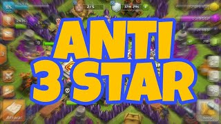 Town Hall 8 anti 3 star🌟🌟🌟 base that defends Town Hall 9😄😄!!!