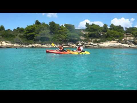 Sea Kayak Halkidiki Daily Trips in Diaporos