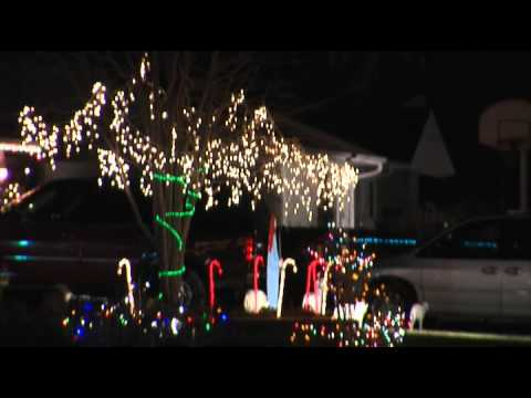 Lehnertz Avenue Christmas Display 2020 The Lights of Lehnertz Avenue   YouTube
