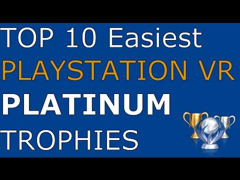 The Top 10 Easiest PlayStation VR Platinum Trophies