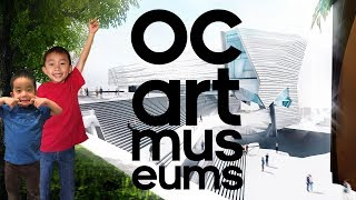 2 FREE Art Museums in Orange County (Irvine Museum & OCMA) Travel with Kids