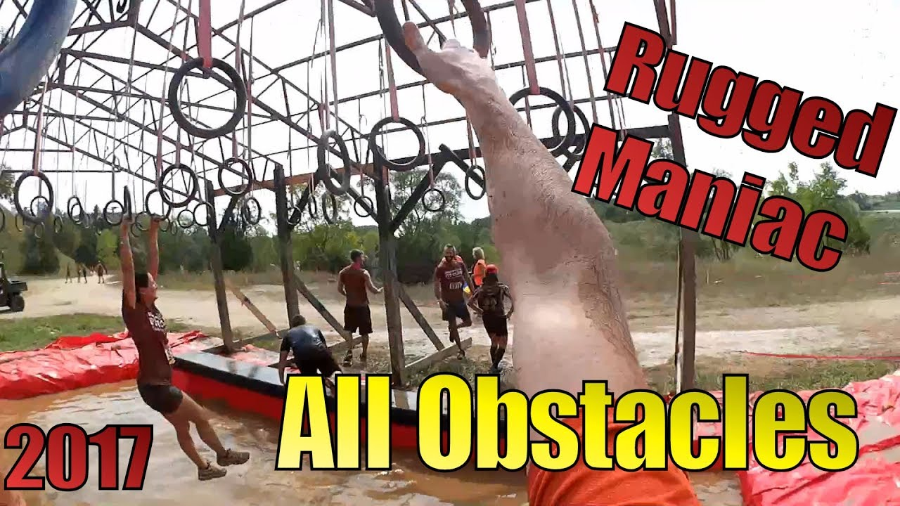 Rugged Maniac 2017 All Obstacles Wilmot Chicago Milwaukee