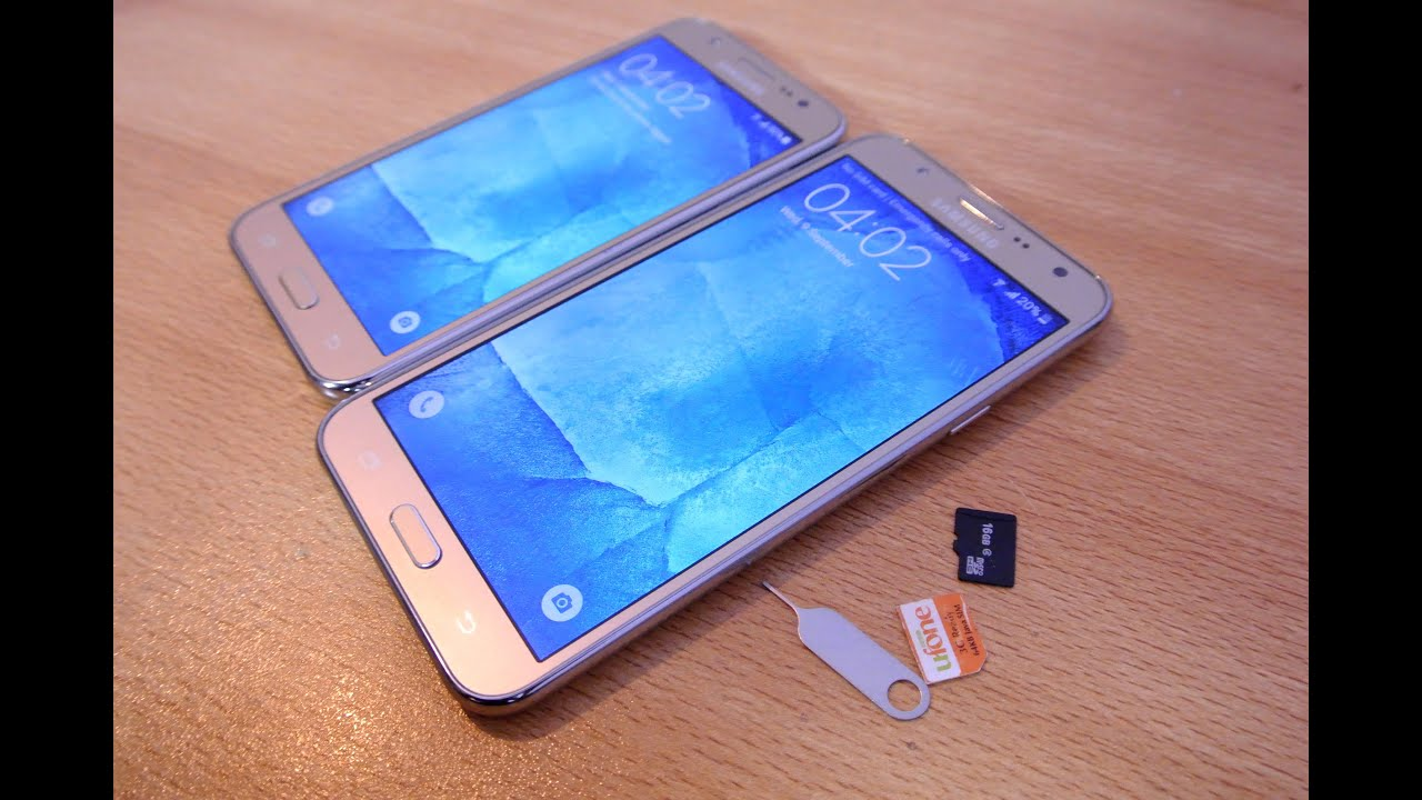 Samsung J5 Sim Karte.Samsung Galaxy J7 J5 How To Insert Sim Cards Micro Sd Card Easily