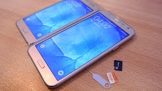 Samsung Galaxy J7 / J5 - How to Insert SIM Cards & Micro SD Card EASILY!