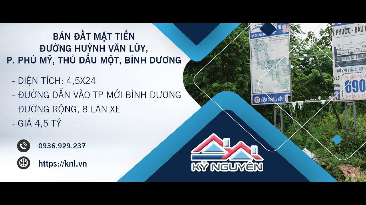 Bán đất mặt tiền đường Phạm Ngọc Thạch, Thủ Dầu Một, Bình Dương