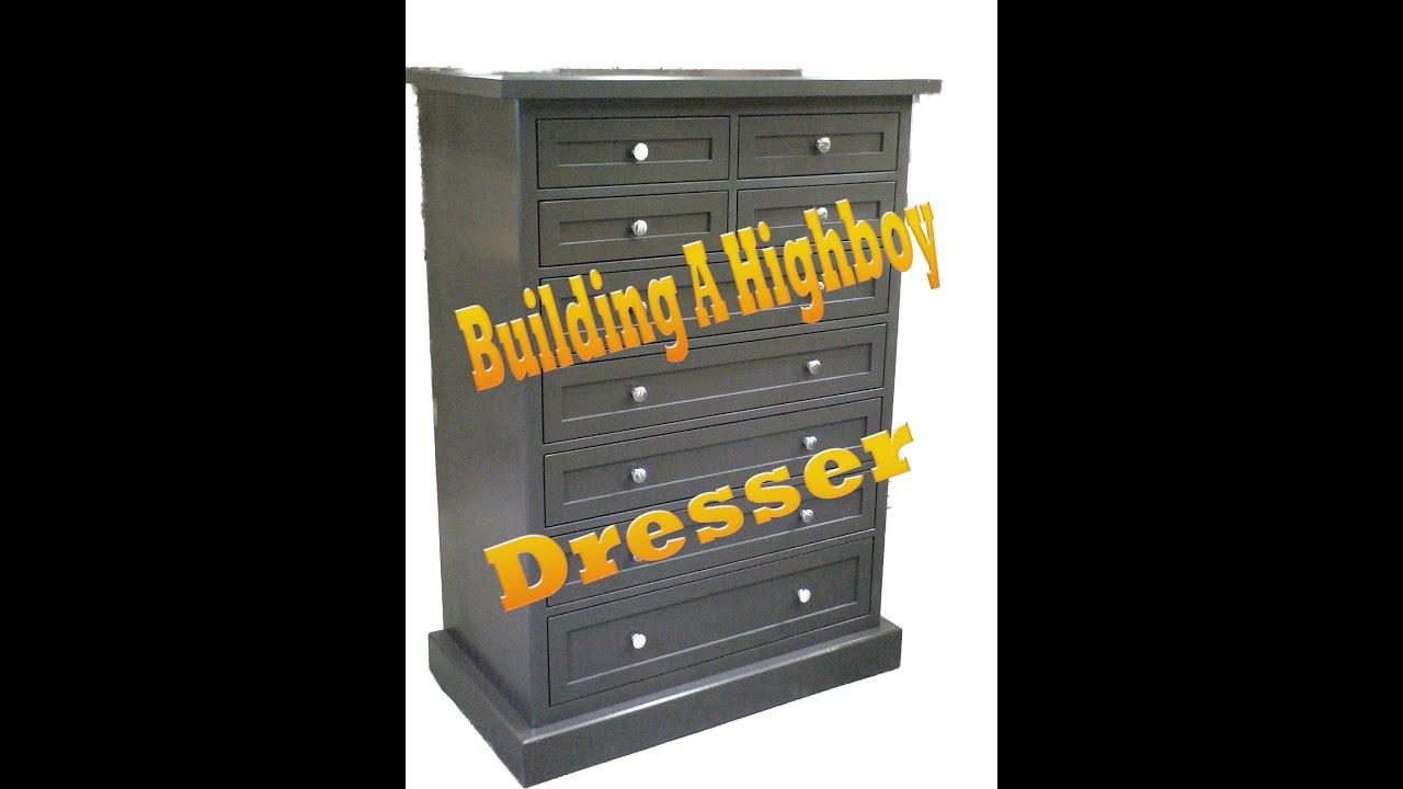 building a highboy dresser part 1 of 6