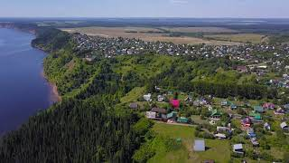 Природа села Галёво, Воткинский район / 4K