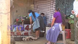 Aldea Feria de San Rafael Pie de la Cuesta devastada por sismo.