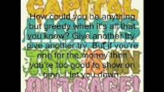 Capital Lights - Outrage (Lyrics)