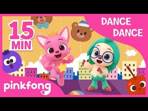 Teddy Bear And More | +Compilation | Dance Dance | Pinkfong Songs For Children