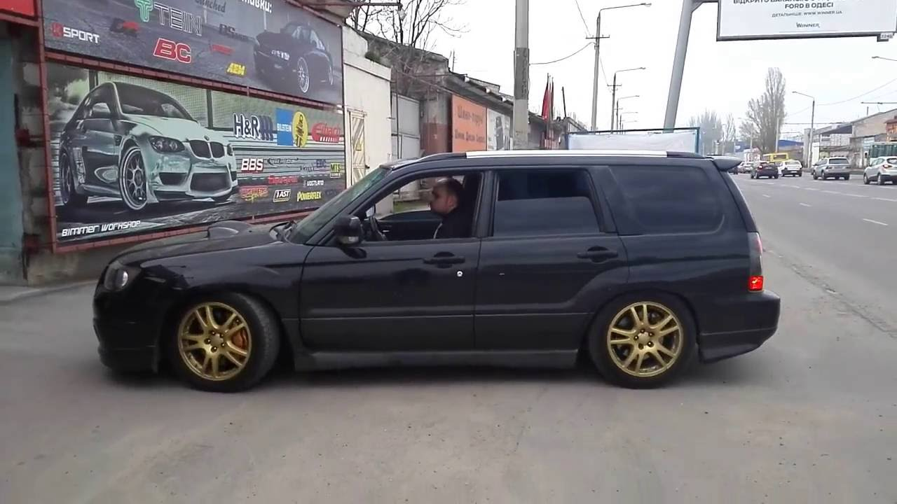 subaru forester on coilovers bcracing installed in. Black Bedroom Furniture Sets. Home Design Ideas
