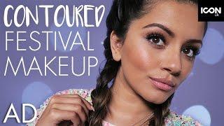 Bronzed + Contoured Festival Inspired Makeup AD | Kaushal Beauty | L'Oréal Paris #FestivalReady