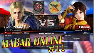 LION RAFALE  VS  EILEEN    I   MAIN BARENG (MABAR) ONLINE GAME VIRTUA FIGHTER 5