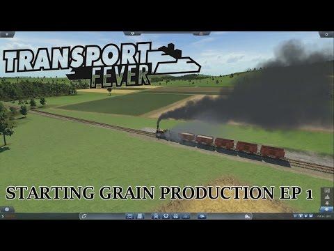 Transport Fever - Starting Grain & Stone Production EP 1