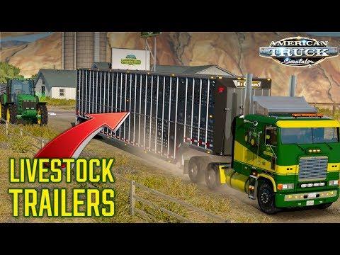 NEW!! LIVESTOCK TRAILERS | MOD SHOWCASE | AMERICAN TRUCK SIMULATOR