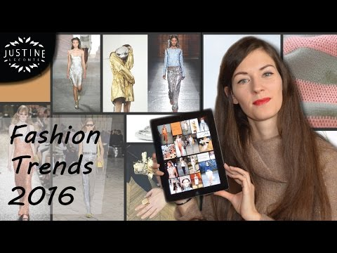 Spring 2016 Fashion Trends | Styles & Accessories for Spring Summer | Justine Leconte