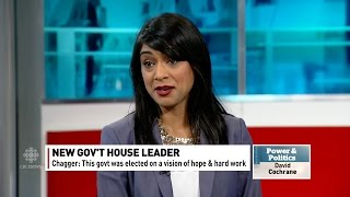 Faking it: Justin Trudeau's new Government House Leader overcome by talking points