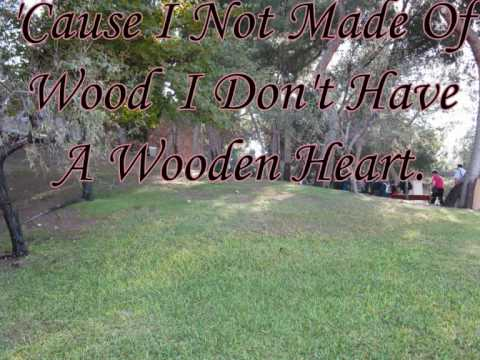 Wooden Heart With Lyrics By; Lyn Hopkins