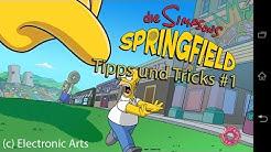 5 Tipps zur App Simpsons Springfield