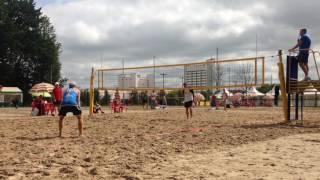 Пляжный волейбол. Молодечно 2016. Михайлов-Иванников/