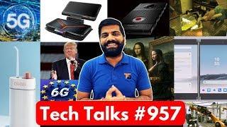 Tech Talks #957 - TSMC 3nm, vivo 6G Patent, 3D Mona Lisa, Mi Pay, Hydrogen Phone, Rats Car,  5G